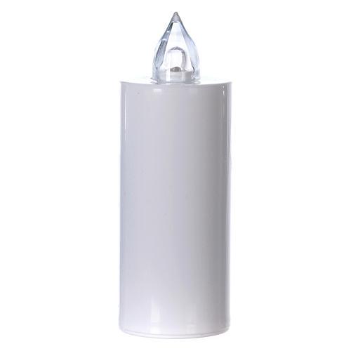 Veilleuse Lumada à usage unique blanche lumière jaune clignotante 1