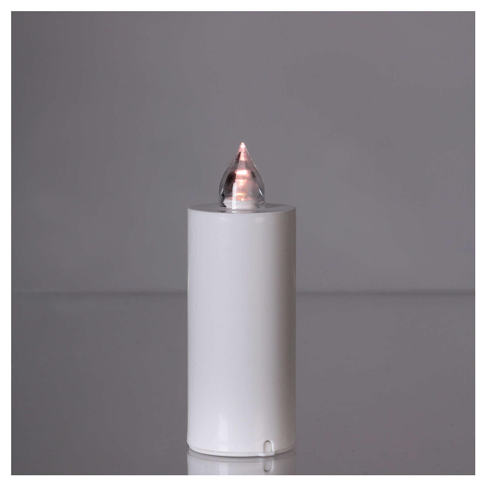 Candela votiva Lumada luce intermittente bianca 3