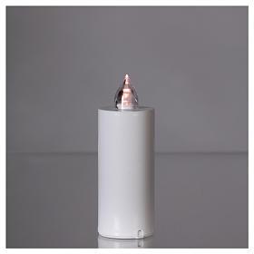 Candela votiva Lumada luce intermittente bianca s2