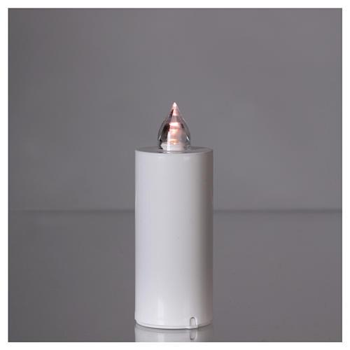 Candela votiva Lumada luce intermittente bianca 2