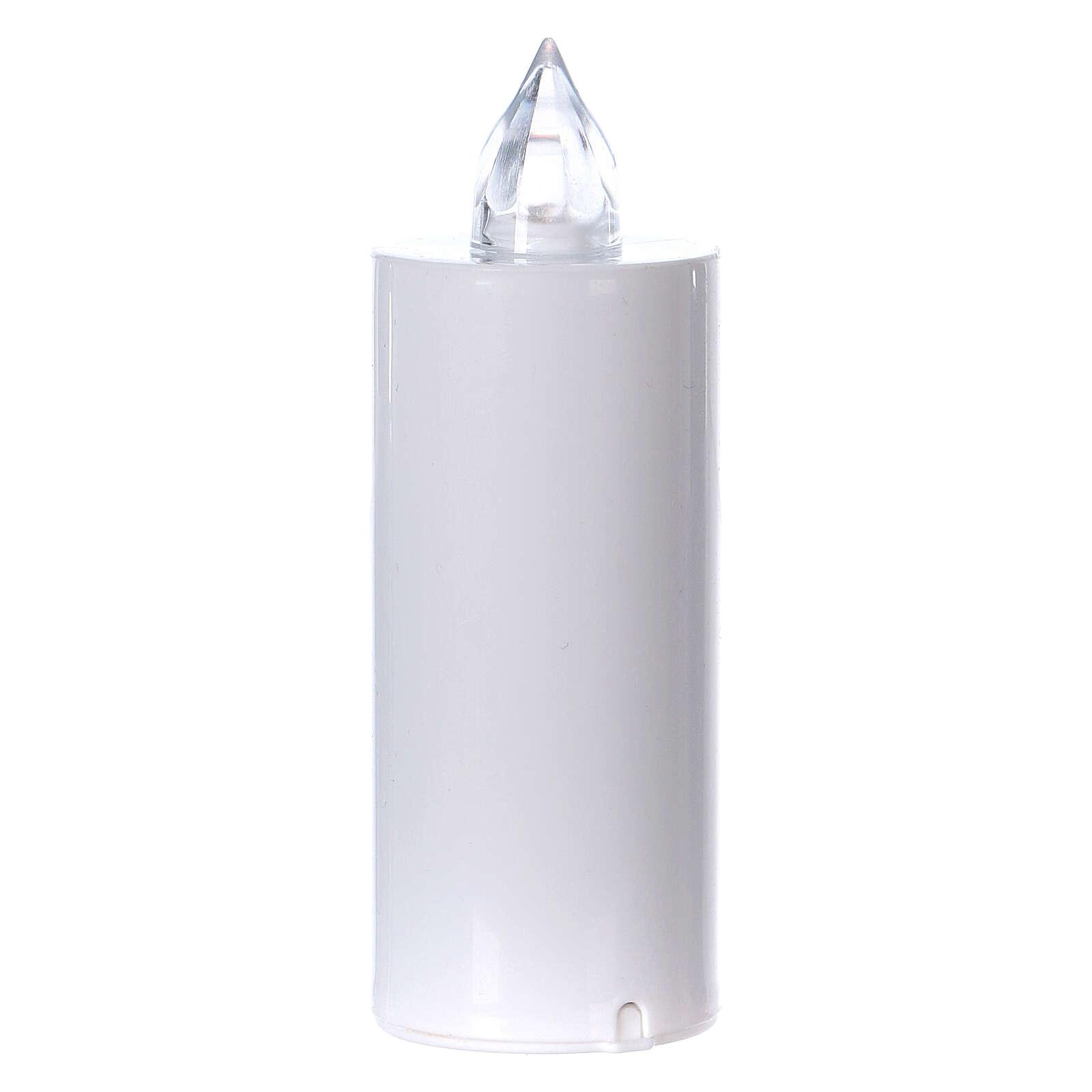 Vela votiva Lumada luz intermitente branca 3