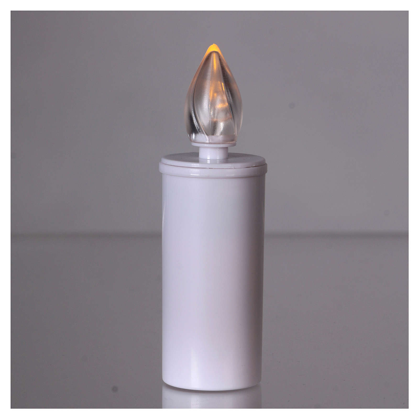 Lumada votive candle with yellow flickering light, disposable 3