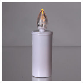 Lumada votive candle with yellow intermittent light, disposable s2