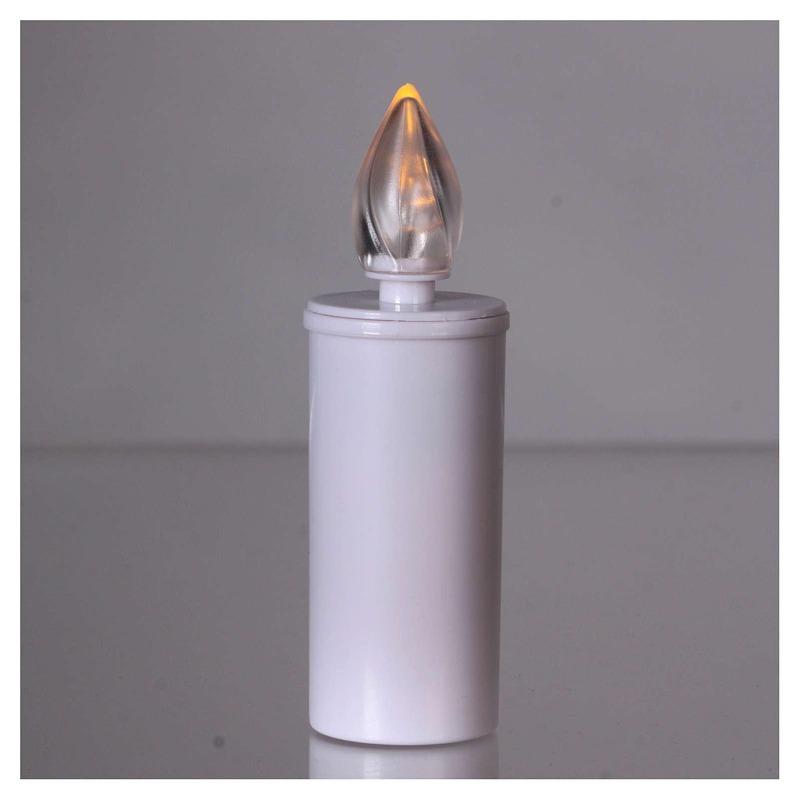 Lamparilla Lumada desechable anual luz parpadeante amarilla 3