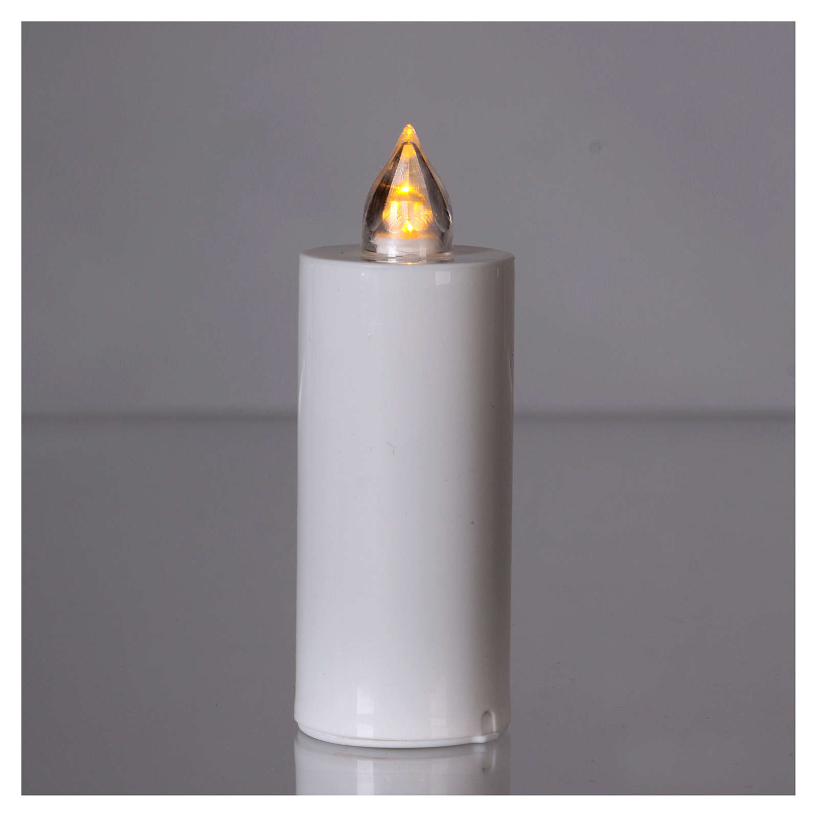 Lumada electric candle with yellow light and white body 3