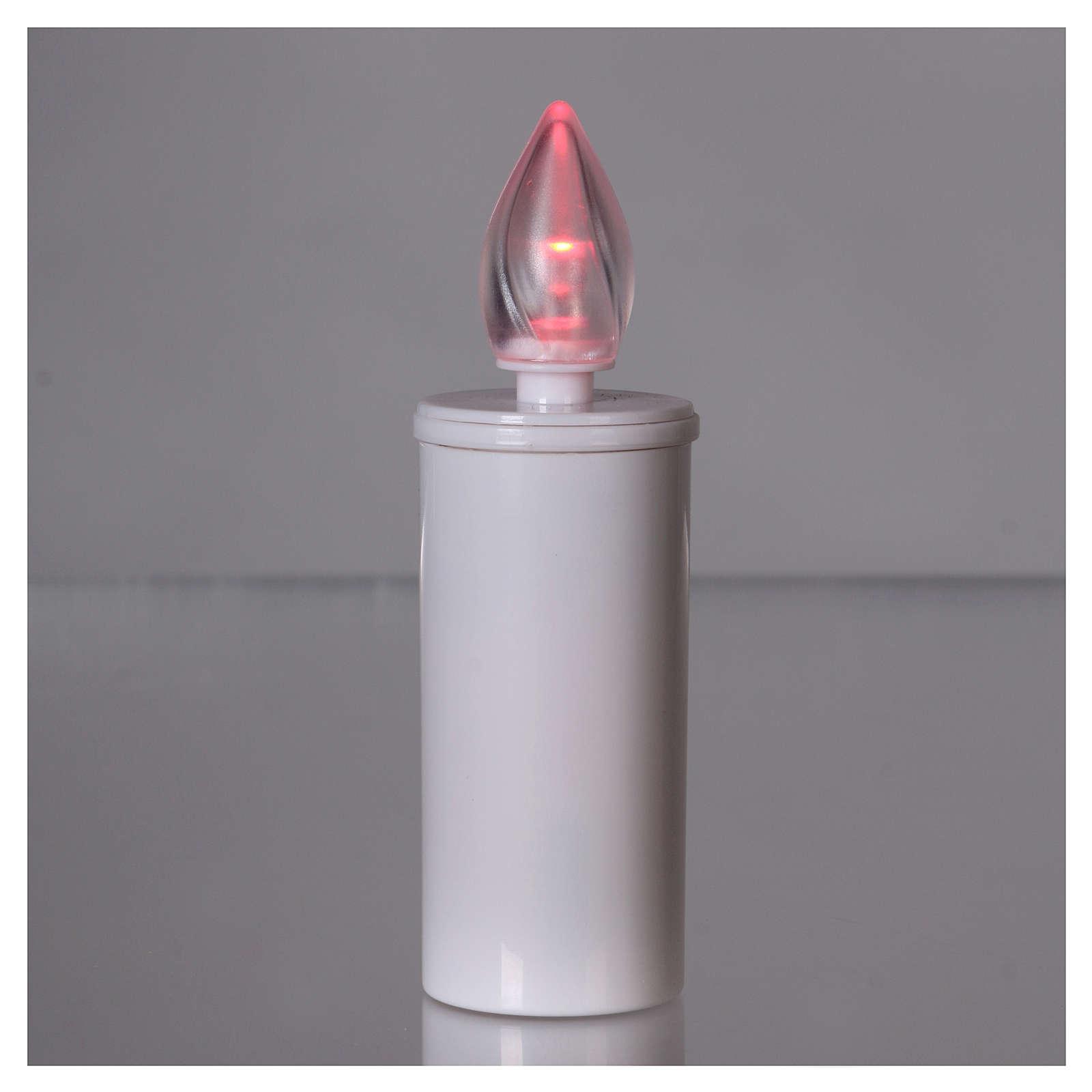 Lamparilla Lumada anual desechable luz parpadeante roja 3