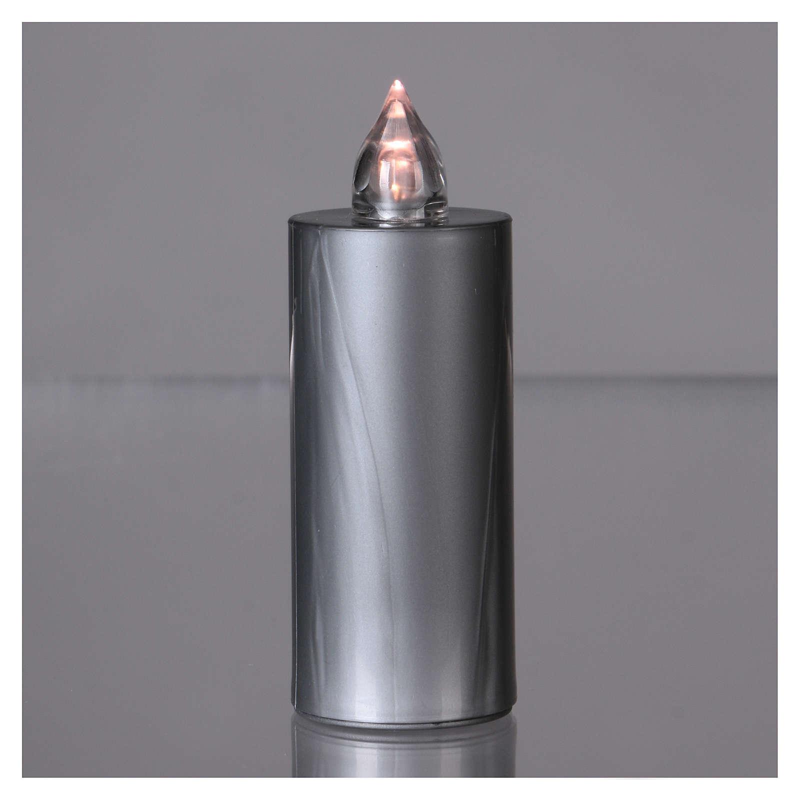 Lumino Lumada luce intermittente bianca usa e getta argento  3