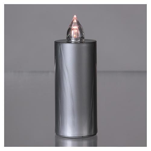 Lumino Lumada luce intermittente bianca usa e getta argento  2