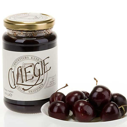 Cherry Jam 400gr of the Vitorchiano Trappist nuns 1