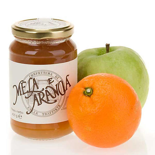Confiture Extra pommes oranges, 400gr, Trappistines Vitorchiano 1