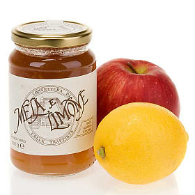 Jams and Marmalades: Apple and Lemon jam 400 gr of the Vitorchiano Trappist nuns