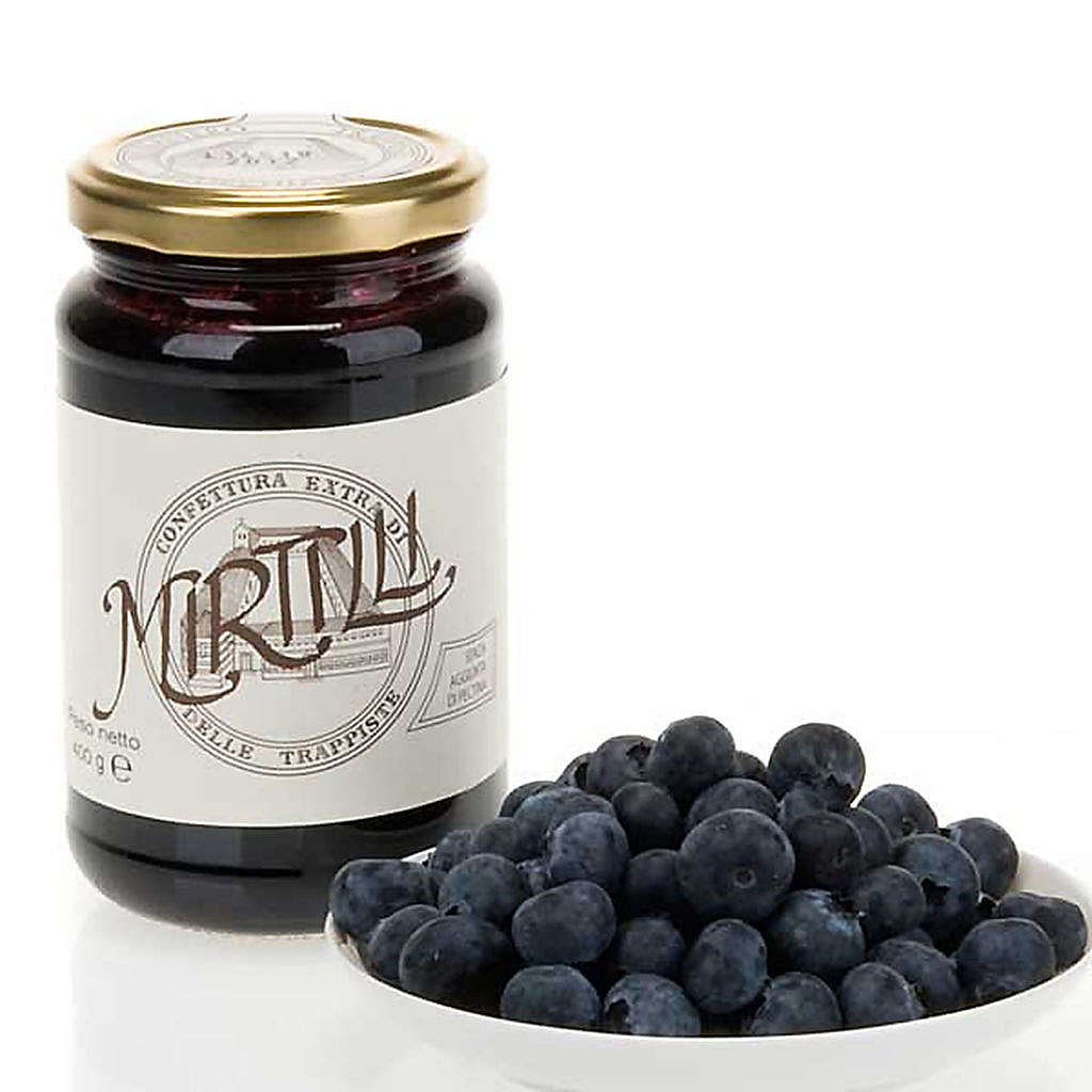 Confiture extra myrtilles 400 gr Trappistines Vitorchiano 3