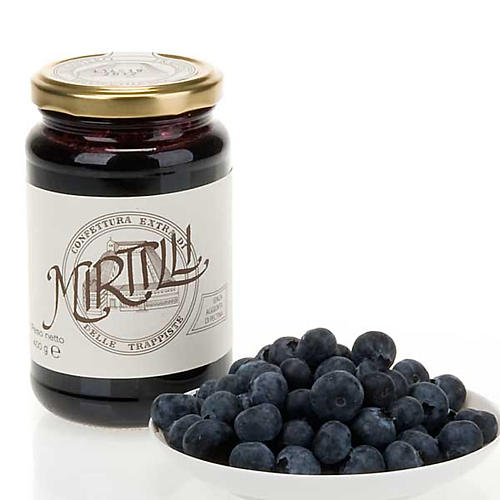 Confiture extra myrtilles 400 gr Trappistines Vitorchiano 1