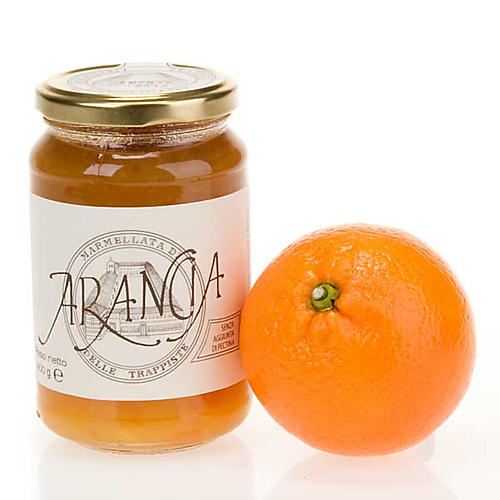 Orange marmalade 400 gr of the Vitorchiano Trappist nuns 1