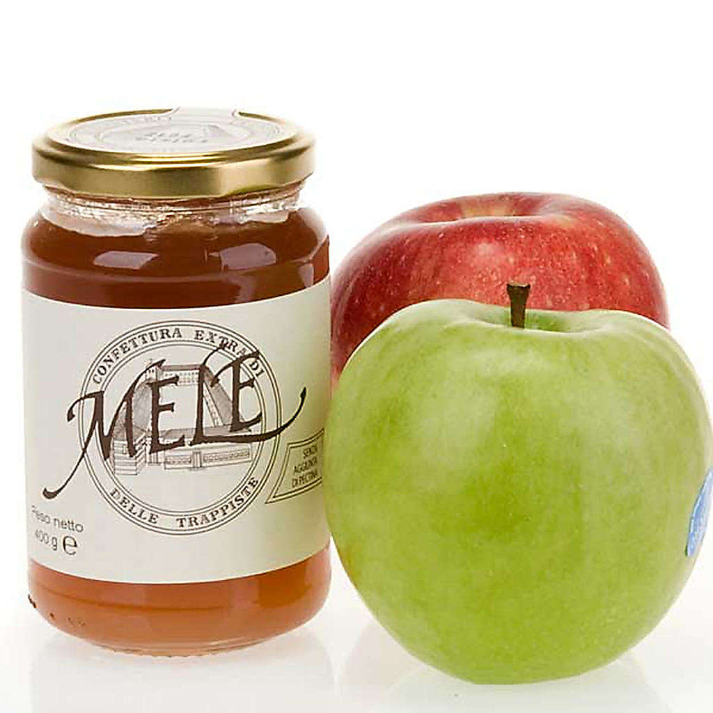Apple Jam 400 gr of the Vitorchiano Trappist nuns 3