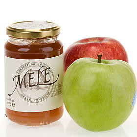 Jams and Marmalades: Apple Jam 400 gr of the Vitorchiano Trappist nuns