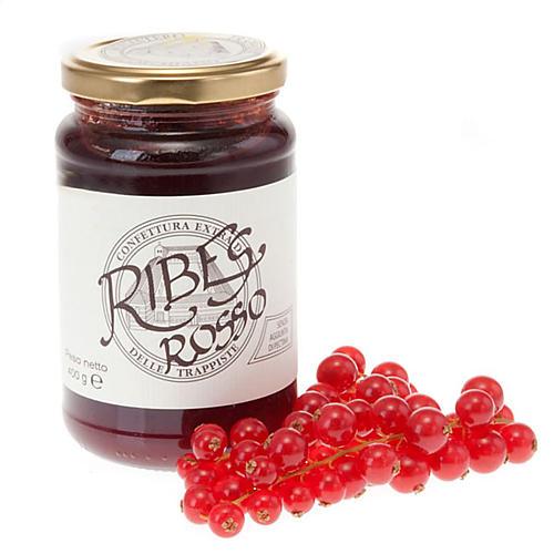 Confettura Extra Ribes Rosso 400 gr Trappiste Vitorchiano 1
