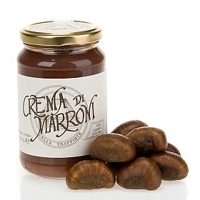 Jams and Marmalades: Chestnut cream 400 gr of the Vitorchiano Trappist nuns