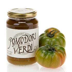 Green tomatoes jam 400 gr of the Vitorchiano Trappist nuns s1