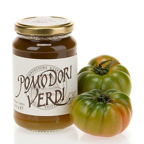 Green tomatoes jam 400 gr of the Vitorchiano Trappist nuns 1