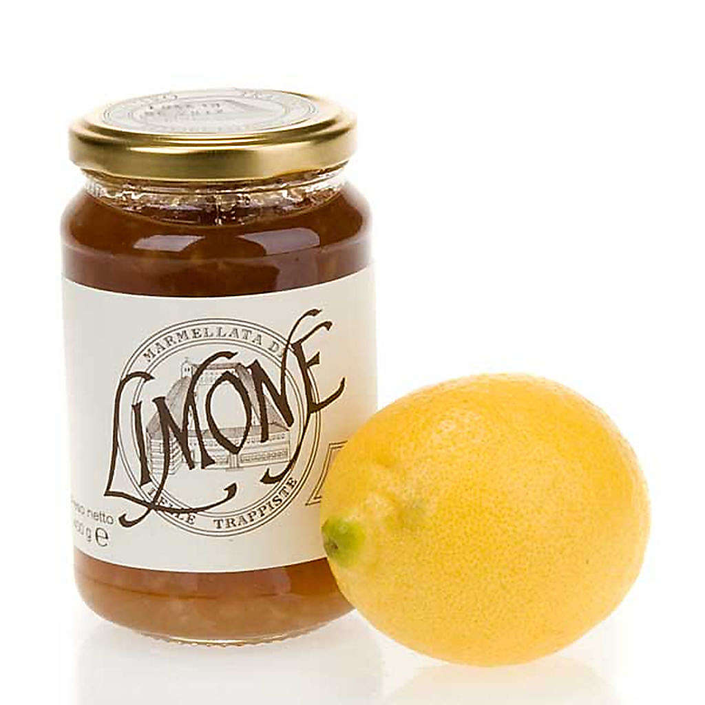 Zitronen-Marmelade 400 Gramm hergestellt im Trappisten Kloster in Vitorchiano 3