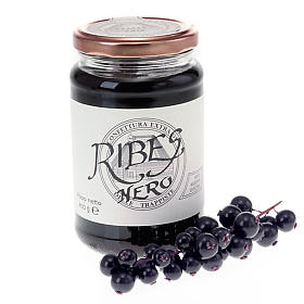 Jams and Marmalades: Blackcurrant Jam extra 400gr, Vitorchino Trappists