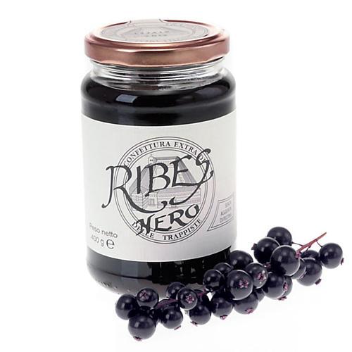 Confettura Extra di  Ribes Nero 400 gr Trappiste Vitorchiano 1
