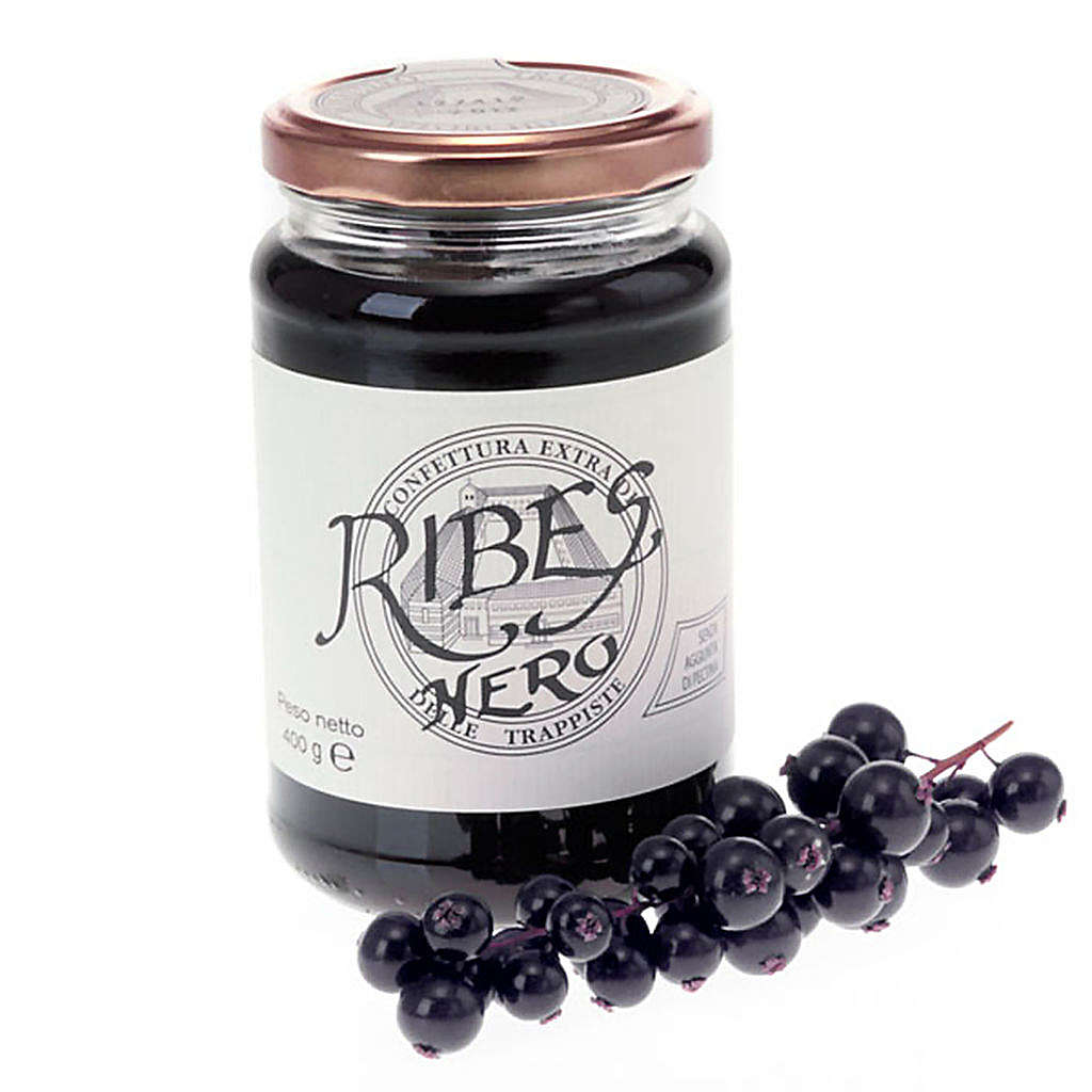 Blackcurrant Jam extra 400gr, Vitorchino Trappists 3