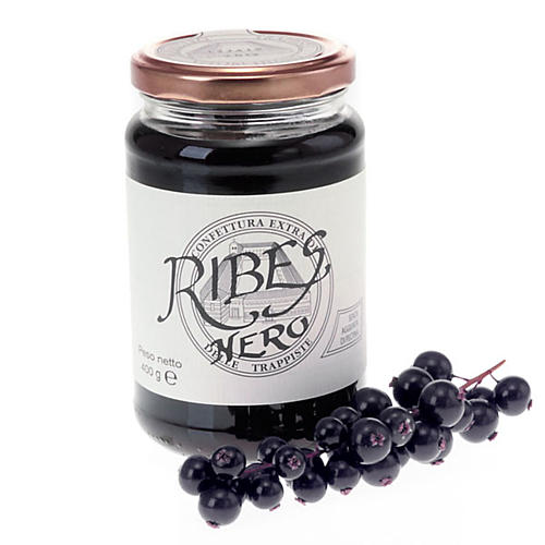 Blackcurrant Jam extra 400gr, Vitorchino Trappists 1