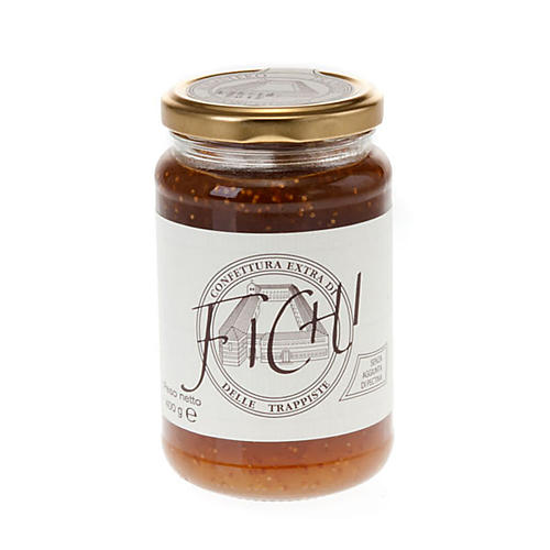 Confiture extra figues 400 gr, Trappistines Vitorchiano 1