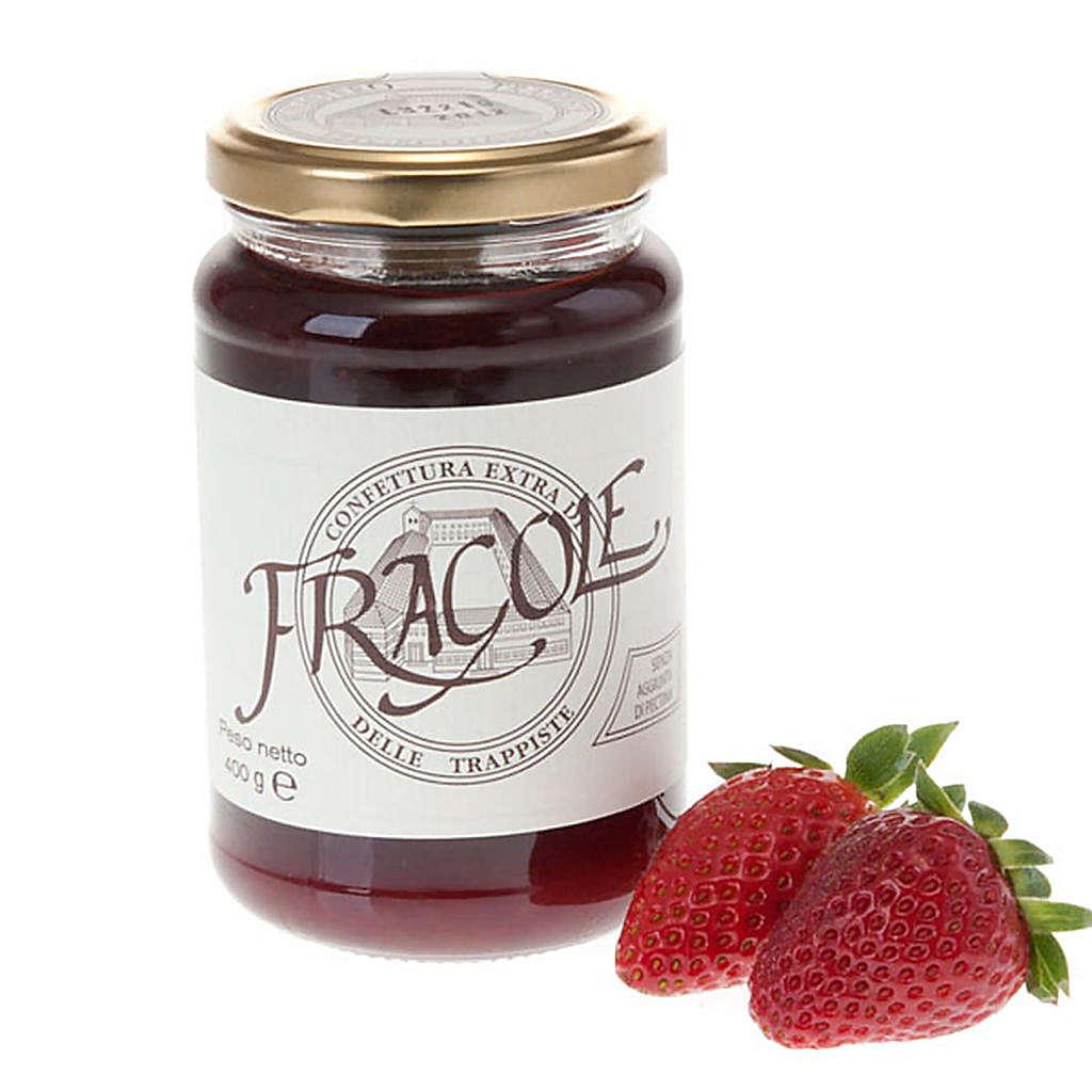 Strawberry jam extra 400 gr -Vitorchiano Trappists 3