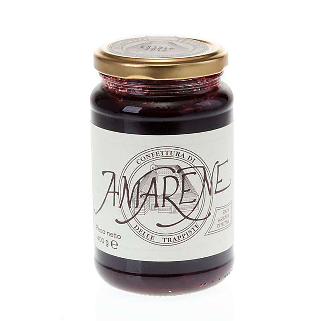 Sour cherry jam 400 gr Vitorchiano Trappists 3