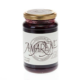 Sour cherry jam 400 gr Vitorchiano Trappists s1