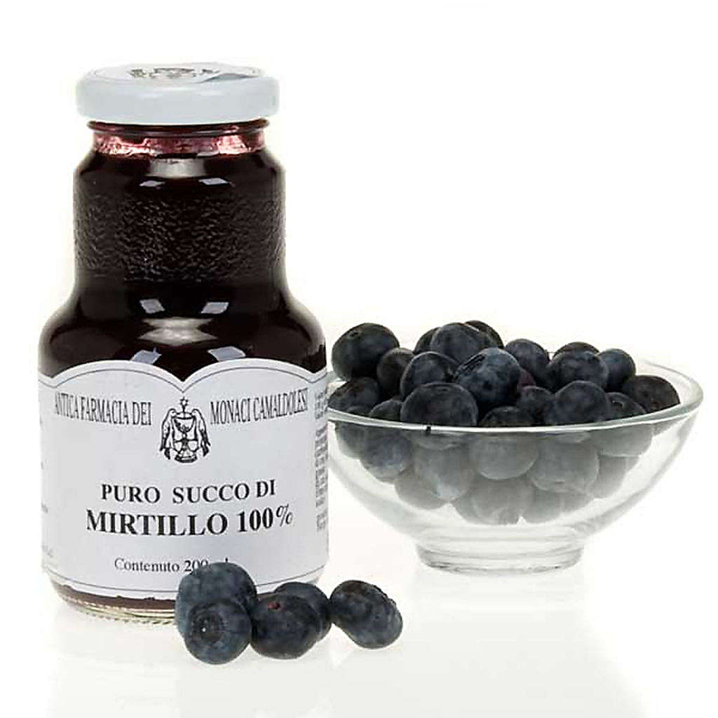 Blueberry juice 200 ml of the Camaldoli monks 3