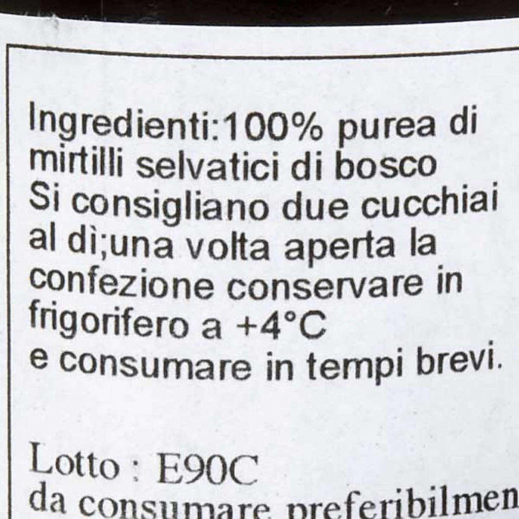 Blueberry juice 200 ml of the Camaldoli monks 3