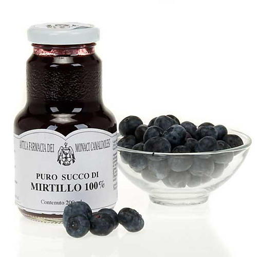 Blueberry juice 200 ml of the Camaldoli monks 1