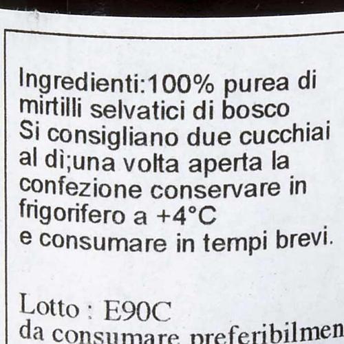 Blueberry juice 200 ml of the Camaldoli monks 2