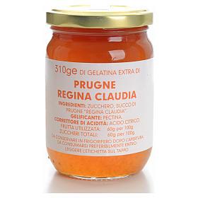 Gelatina Extra prugne regina Claudia 310 gr Monastero Carmelitan s1