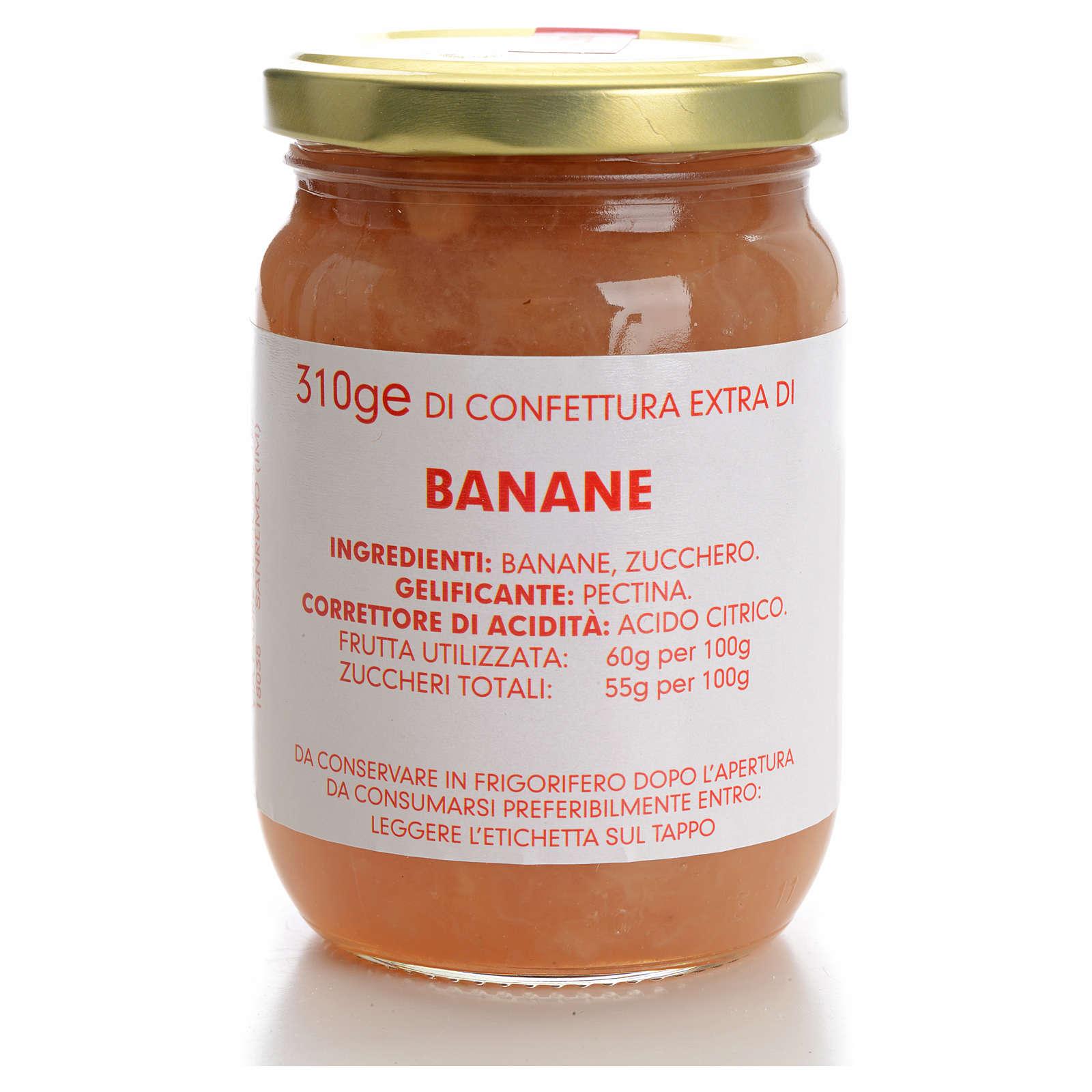 Confettura banane 310 gr Monastero Carmelitane 3