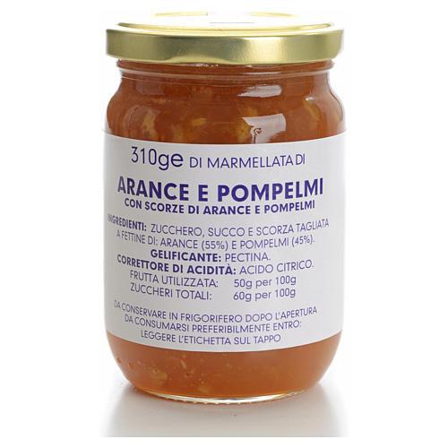Confiture orange et pamplemousse 310 g Carmélites 1