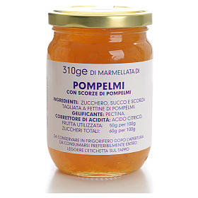 Marmellata pompelmi 310 gr Monastero Carmelitane s1