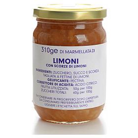 Marmellata limoni 310 gr Monastero Carmelitane s1