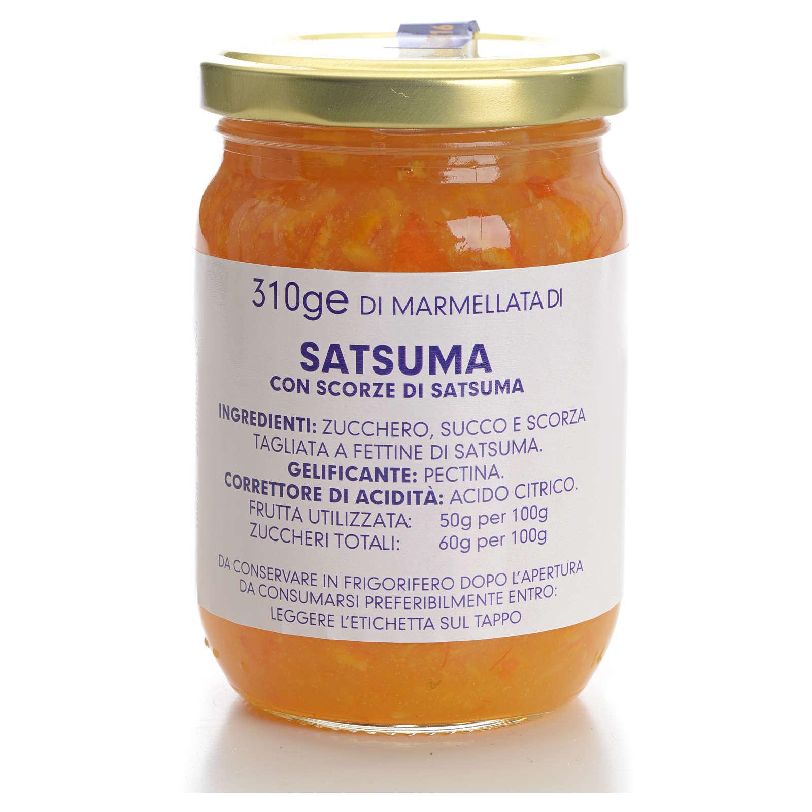 Marmellata satsuma 310 gr Monastero Carmelitane 3