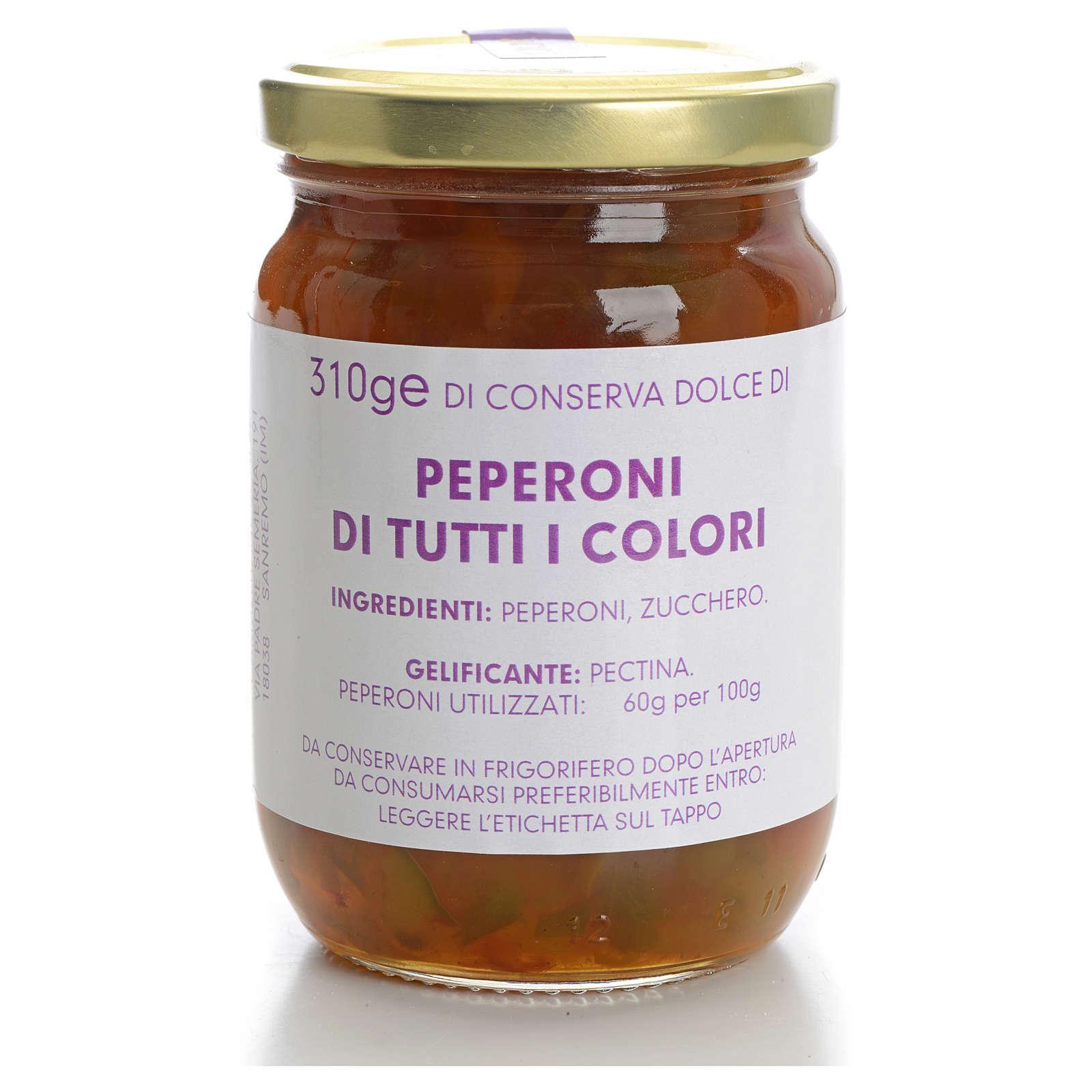 Conservas dulce Ajíes de todos los colores 310gr Monaster 3