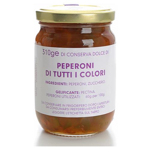 Conservas dulce Ajíes de todos los colores 310gr Monaster 1
