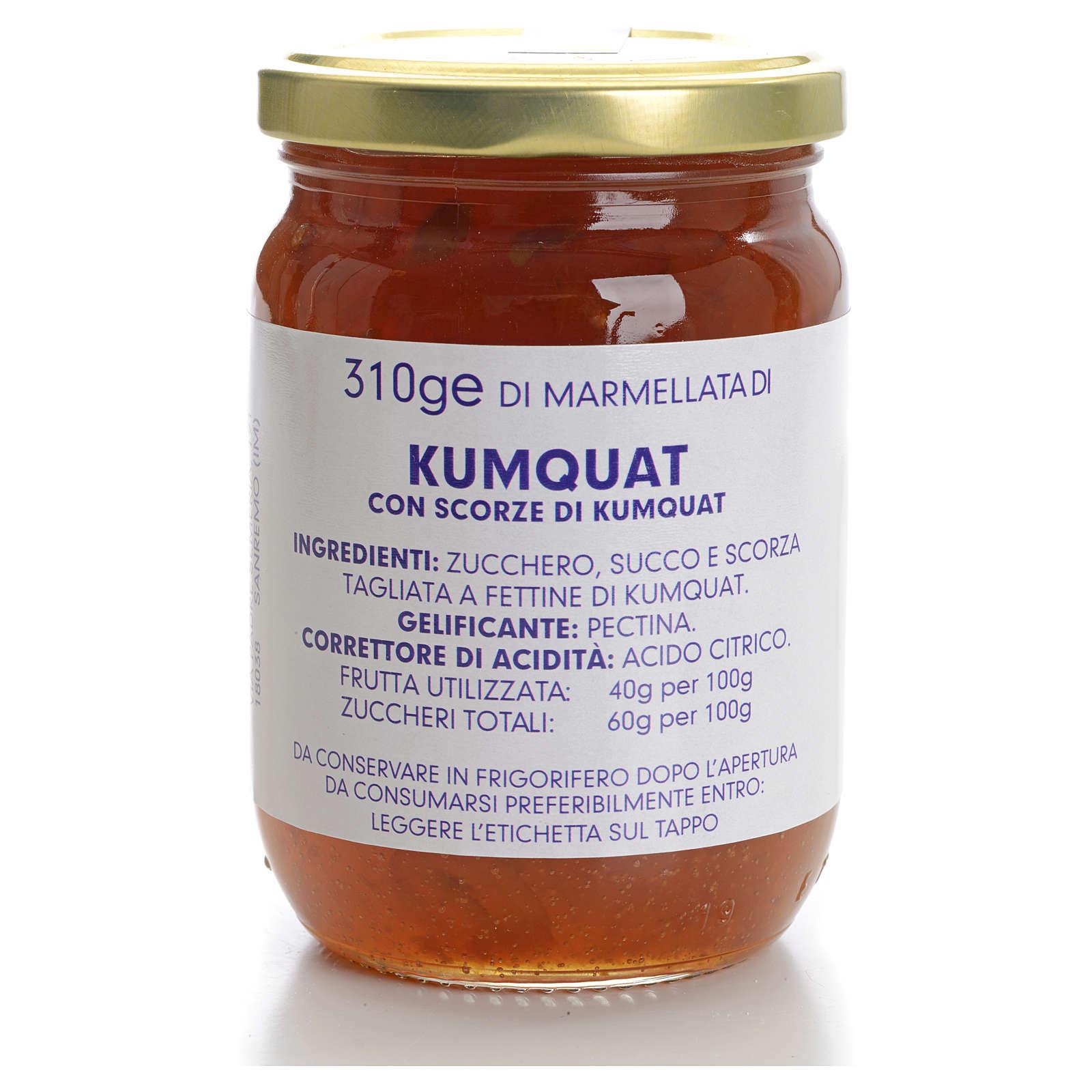 Marmellata kumquat 310 gr Monastero Carmelitane 3