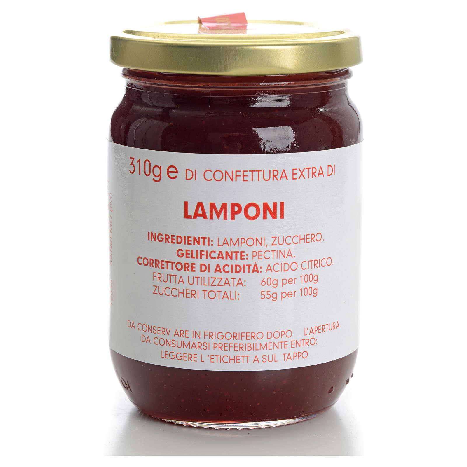 Confettura lamponi 310 gr Monastero Carmelitane 3