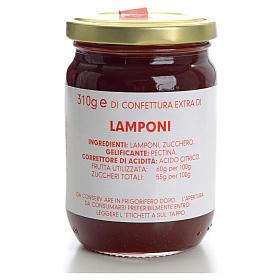 Confettura lamponi 310 gr Monastero Carmelitane s1