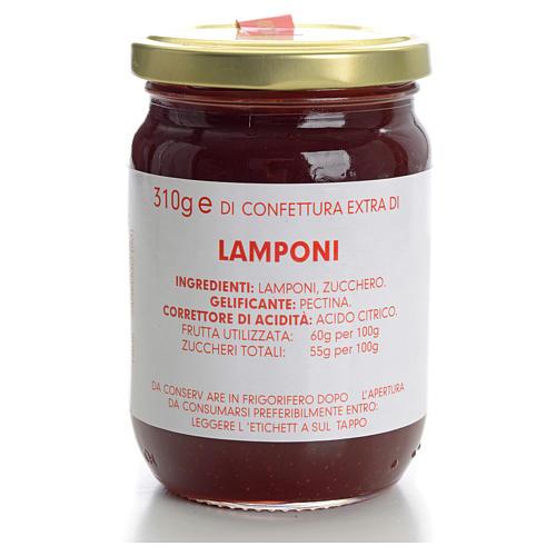 Confettura lamponi 310 gr Monastero Carmelitane 1