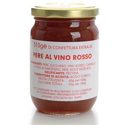 Confettura pere al vino rosso 310 gr Monastero Carmelitane 1